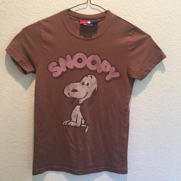 7801f6900132aa GAP kids Shirts & Tops | Girls Snoopy Tshirt | Poshmark